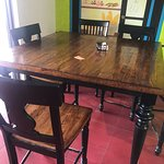 Inside Table and Chairs