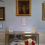 Portrait of Francis Marion and some period gear.
