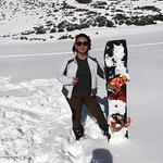 Segunda clase de snowboard