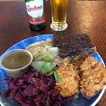 Schnitzel and beer
