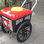 Beer self-service.