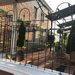 Georgia House patio