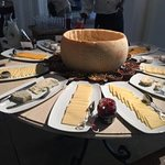 Cheese Table - large bowl of 'parmesan'!