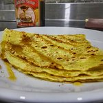 Cinnamon And golden Syrup Crepe