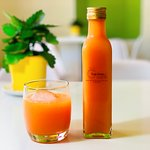 Organic fruit juice