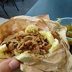 שווארמה עם שומן כבש כתוספת