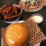 Chicken Burger and Beef Burger
