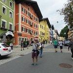 Kitzbüheler Innenstadt Foto