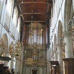 Grote orgel uit 1646 in de Grote Kerk Alkmaar.
