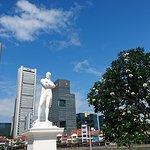 Foto van Statue of Raffles