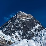 Mt. Everest (8,848 m.) world highest peak, Every year many travelers are visiting this place,
