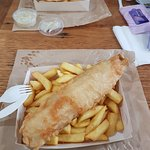 Foto de The Salty Dog Fish & Chippery
