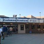 Cashman Field Ticket windows....