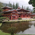 Buddhist temple at Valley of the Temples, Oahu