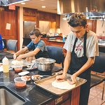 Kids Pizza Workshop in our Hands-On Kitchen