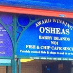 A terrible experience at this O'SHEAS 'award winning' fish and chip cafe