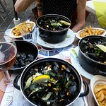 Mussels before