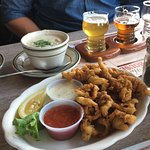 fried clams and chowder!