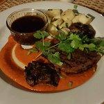 Vanuatu beef and sauted patatoes.