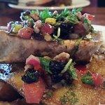 Fish on Potato Rafter