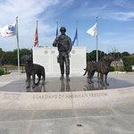 Bilde fra U.S. Military Working Dog Teams National Monument