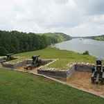 Cannons Overlooking the Cumberland River, Fort Donelson