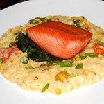 Seared King Salmon