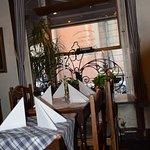 Inside of Kaffegillet Restaurant