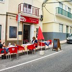 Dining on the street