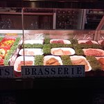 meat and fish counter