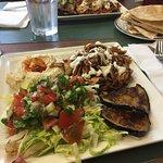 Chicken shawarma sahan