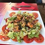 Salade Gambas spéciale Mimi !