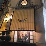 Hexx..entrance inside Paris, Las Vegas.