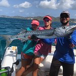 4' Barracuda with Randy from Hook and Sun