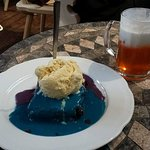 Mud pie and butter beer