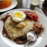 Nasi lemak (Sri lankan)