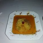 Essa sobremesa que foi feita com tanto capricho...super recomendo, abacaxi flambado.
