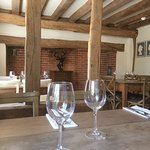 Comfortable country dining in The Snug, our restaurant