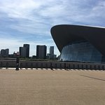 Aquatic Centre - and water is all around