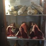Collection of meat