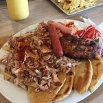 Chicken Gyros Platter - AMAZING and super cheap!