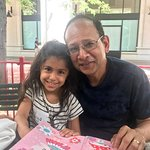 Lunch with niece