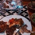 Le plein de viande la brochette du chef