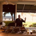 Dominick from Mels SERVING LUNCH at Gulf Pointe In Naples