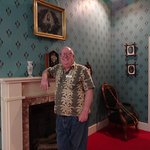 Bernard, the docent (hope you are lucky to meet him)