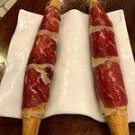 Air baguette with spanish beef (rubya gallega)