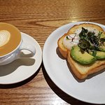 Avocado Toast and Cappucino