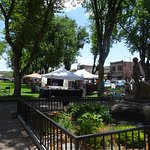 The plaza park is grand, inviting, and a major asset to Prescott