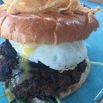 Amazing Farm Burgers from their burger night menu