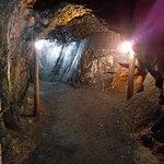 tunnels through the mine